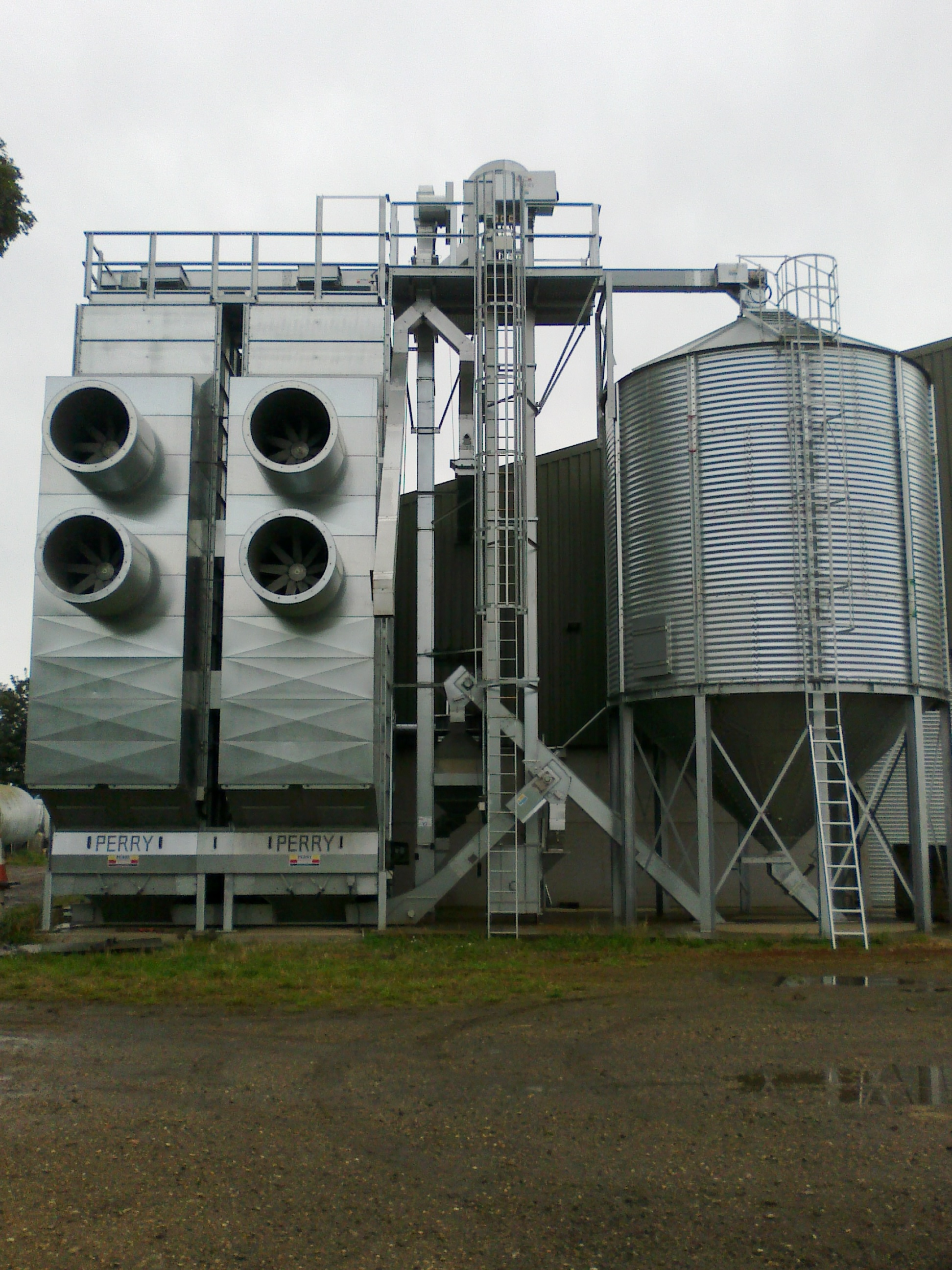 Double column Perry drier