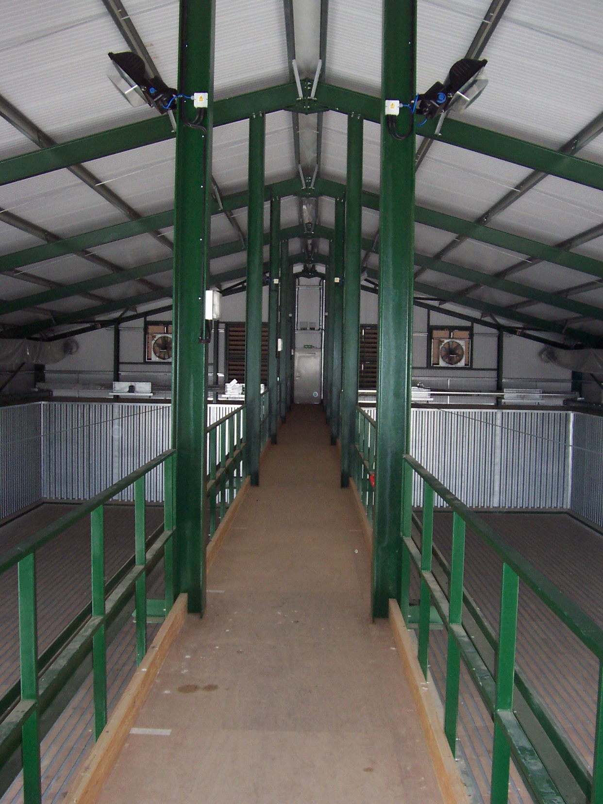 Gantry above onioin store